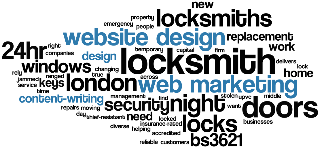 website design web marketing graphic design content writing emergency locksmith london locksmiths locked out jammed keys stolen new locks doors windows insurance-rated bs3621 upvc 24hr